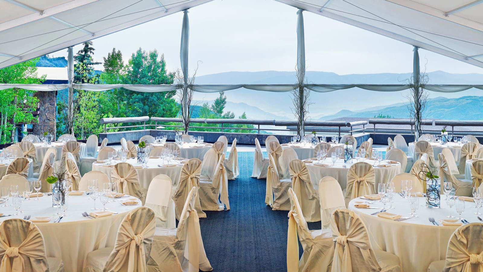 Snowmass weddings the westin snowmass resort - Terras tent ...