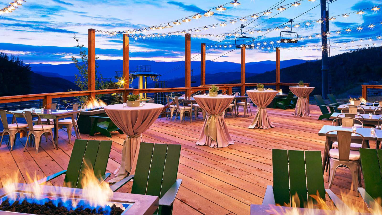 Snowmass Meetings - Outdoor Terrace